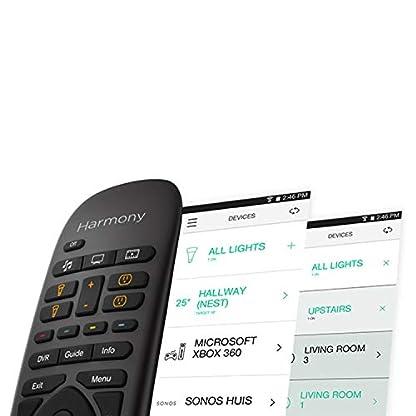 Logitech HARMONY COMPANION Universalfernbedienung, Für Kabelbox, Apple TV, fireTV, Alexa, Roku, Sonos und Smart Home-Geräten, Einfache Einrichtung mit App, LG/Samsung/Sony/Panasonic/Xbox/PS4 - schwarz 4