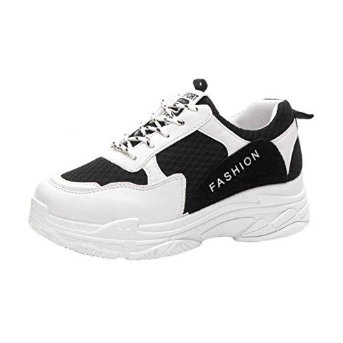 86cf782e34 Casual Confortables Talon Femme femmes Confort Sport Semelles Beautyjourney  Femme Chaussures De Noir UI8qIx7