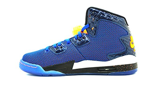 Nike Air Jordan Spike Forty Bg, Zapatillas de Deporte para Niños Azul / Dorado / Blanco / Negro (Game Royal / Ttl Orng-White-Blk)