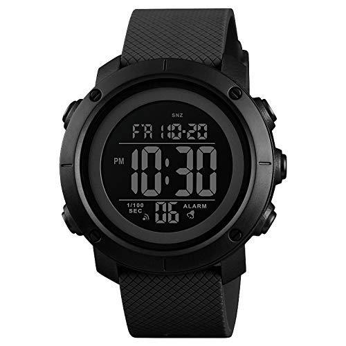 SKMEI Digital Men's Watch (Black Dial)