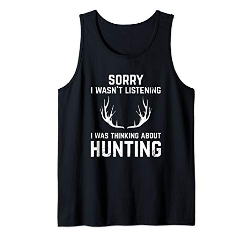 Funny Hunting Gift for Bow and Rifle Deer Hunters Tank Top