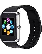 Interactive Bluetooth Smartwatch Fitness Klocka Intelligent Armbandsur Fitness Tracker Smart Watch Sport Klocka med kamera stegräknare Sovspårare Romte Capture Kompatibel med Android Smartphone