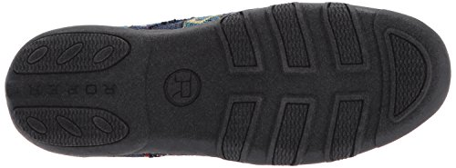 Women's Driving Johnnie Black Loafer Roper Style zP1Zq6nw