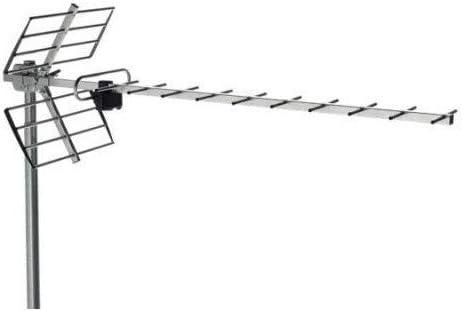 Antena UHF, Canales 21/60, G=13 dB (BU-116): Amazon.es ...