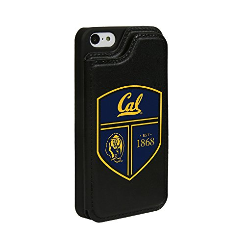 - Guard Dog Cal Berkeley Golden Bears Genuine Leather Wallet Case for iPhone 5 / 5s