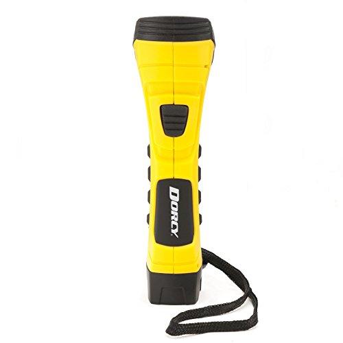 190 Lumen Durable LED Flashlight with TrueSpot Reflector Yellow
