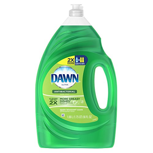 (Dawn Ultra Apple Blossom 56 fl oz Antibacterial Dish washing Liquid)