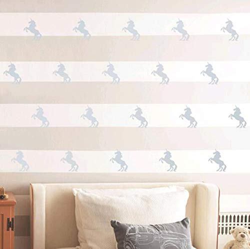 Unicorn Wall Stickers 20Pcs Wall Art Decals Home Decor Girls Sticker for Home Living Room Kids Room Nursery Bedroom Decor - 2.7