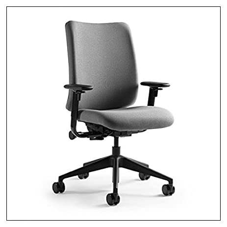 steelcase turnstone chair. Crew Task Chair(tm) By Turnstone Steelcase, Fabric \u003d Grey; Base Steelcase Chair