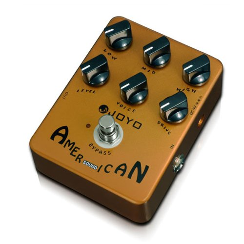 Joyo JF-14 American Sound Effects Pedal Amplifier Simulation with Voice Control ()