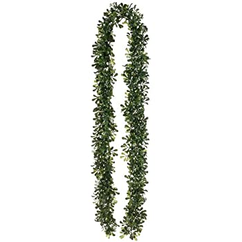 6' Boxwood Garland Green Two Tone (Pack of 6)