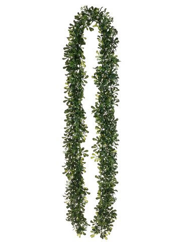 Allstate Floral & Craft 6' Boxwood Garland Green Two Tone...