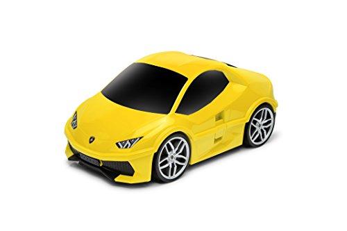 람보르기니 우라칸 (Lamborghini Huracan) 어린이용 여행가방 트렁크 캐리어 휴대용 케이스 장난감 상자에도 겸용하여 사용 가능한 12L (옐로우/오렌지/그린)