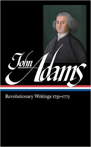 Book John Adams: Revolutionary Writings 1755-1775 (Library of America)