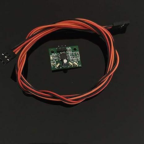 Mini sensor de altura IR diferencial con cable para impresora 3D ...