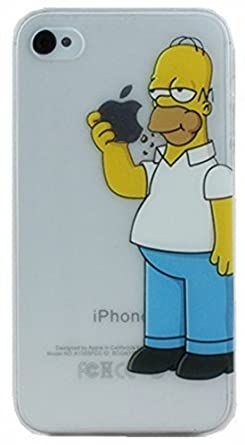 the latest b7ce0 0aad6 Homer Simpson iPhone 5/5s hard case - Free shipping (Homer Eating ...