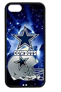 Hoomin Fashion Dallas Cowboys Universe Stars iPhone 5 5s Cell Phone Cases Cover Popular Gifts(Laster Technology)