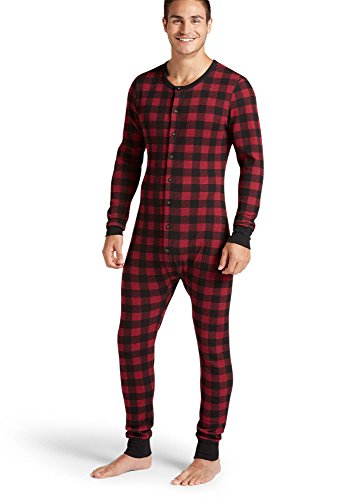 Jockey Men's Underwear Waffle Union Suit