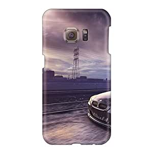 Bumper Cell-phone Hard Cover For Samsung Galaxy S6 With Customized Vivid Bmw M5 E60 Image JamieBratt