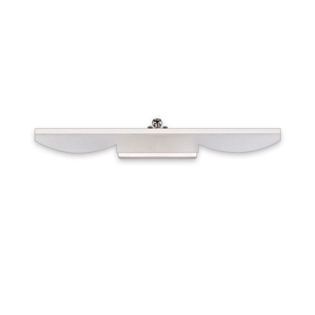 &LED Spiegelfrontlampe LED-Spiegel Scheinwerfer, WC Badezimmer Lichter wasserdicht Anti-Fog Schminktisch Wandleuchte Lichter (Farbe   Warm ligh-20W 100CM)