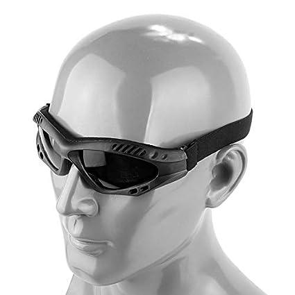Uniteking Motocicleta Caza Desierto Gafas de Sol Militares a ...