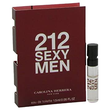 Amazon.com: 212 sexy por Carolina Herrera – Vial (muestra ...