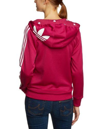 sudadera rosa adidas mujer