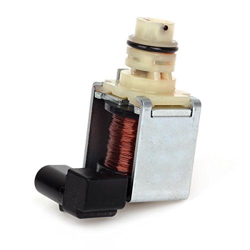 (Partsam Shift Solenoid 4T65E 4T60E Transmission 1-2, 2-3 Shift 97-Up 24219819 Compatible With)