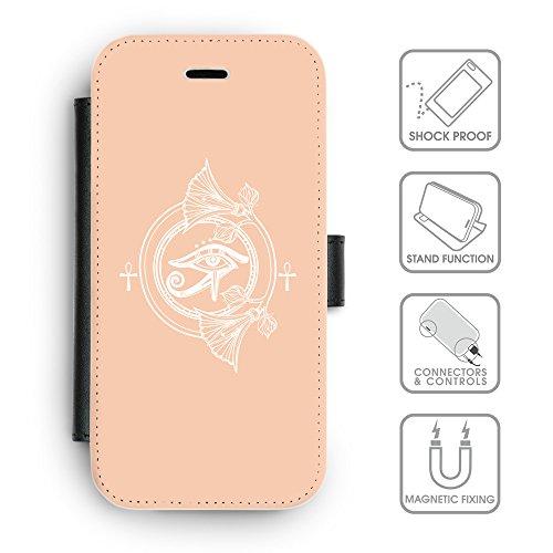 Flip PU Leather Wallet Case avec des fentes de carte de crédit // Q09870604 Religion 27 Abricot // apple iPhone 6s 2015
