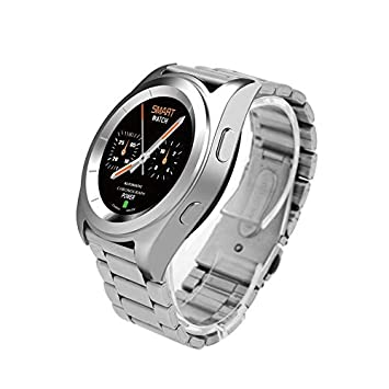 Yao NO.1 G6 Smart Watch Steel Strap Sport Watch Bluetooth ...