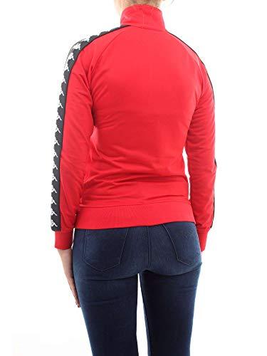 Wanniston Kappa Felpa Donna 301psc0 Rosso Slim 222 Banda Jacket wqwXRa7xZ