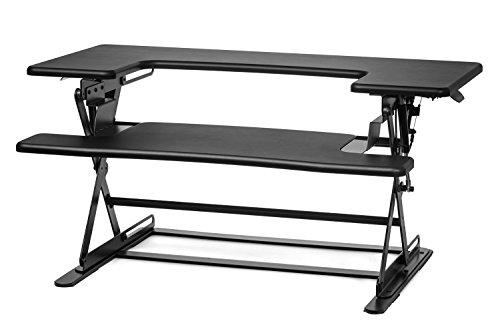 Halter ED-600 Preassembled Height Adjustable Desk Sit ...