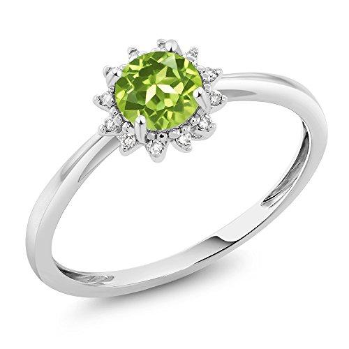 0.50 Carats Emerald Ring - 9