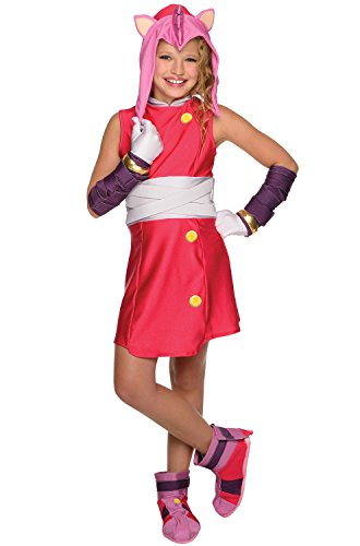 Rubie's Costume Co Sonic Boom Amy Child's Costume, Small -