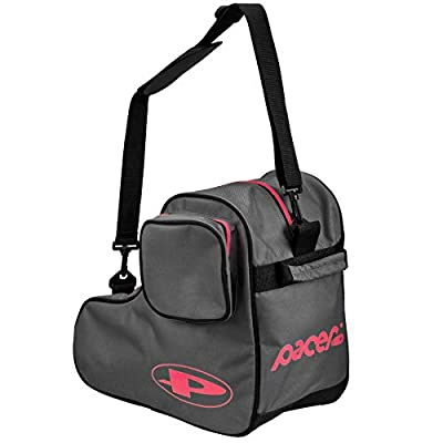 Pacer Skate Shape Bags - Great for Quad Roller Skates or Inlines (Grey) : Sports & Outdoors
