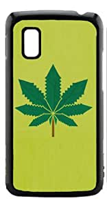 HeartCase Hard Case for Google Nexus 4 LG E960 ( Weed Hipster Quote )