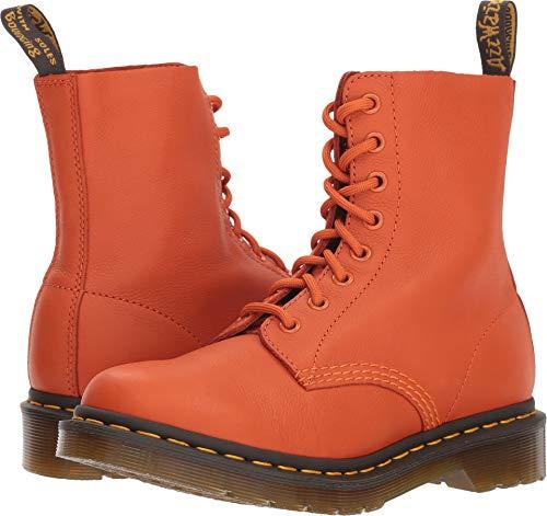 Dr. Martens Women's 1460 Pascal Mid Calf Boot Burnt Orange 7 M UK (9 -