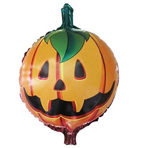 Halloween Pumpkin Head Phantom Balloon
