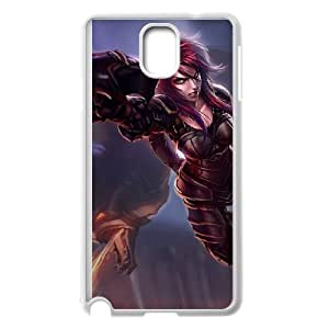 Samsung Galaxy Note 3 Cell Phone Case White League of Legends Ironscale Shyvana UVW0573636