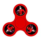 Incredibles Hero Mr.Incredible EDC Tri Fidget Spinner Spinning Finger Stress Reducer Toy