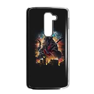 LG G2 Cell Phone Case Black GUITARZILLA WH9535374