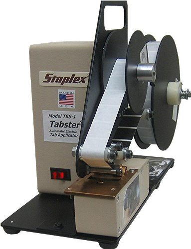 Staplex TBS-1.5 Tabster Electric Wafer Seal Applicator & Tabber (1.5'' & 1'' Round Tabs) from ABC Office