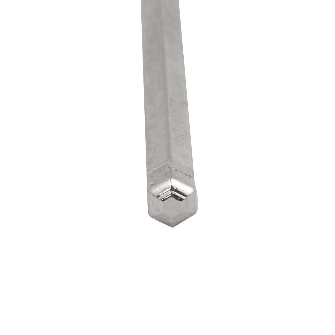 sourcing map Llave de Contratuerca de 2 puntas de Amoladora angular de hierro Llave de acabado chapado de Zinc 2uds