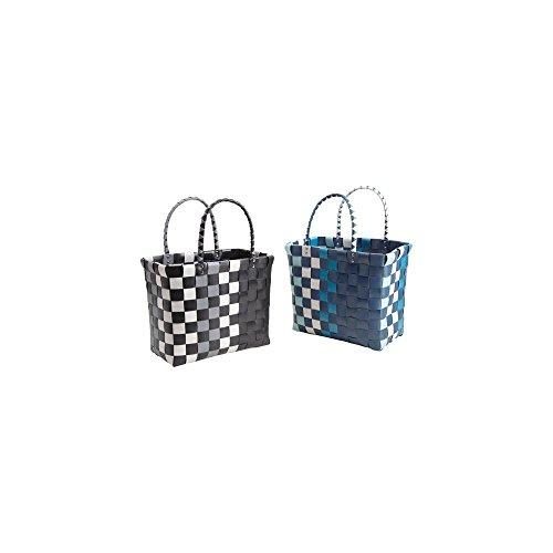 blu Plastica In Borsa Per Blu Colore Spesa La Nero 1w0q5d0