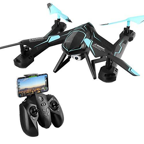TOYEN GordVE GV561 RC Drone 2.4GHz FPV VR WiFi RC Quadcopter 6-Axis Gyro Remote Control Drone with 2MP HD Camera (2 Axis Camera)