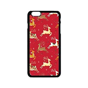Custom Merry Christmas Gift Durable Protector Plastic Snap On Cover Case for iPhone 6