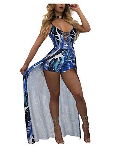 Halter Floral Tube Dress Top - 4