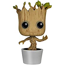 Muñeco con cabeza en movimiento de Funko POP! de Marvel: Dancing Groot