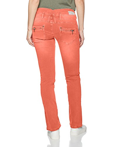 Naranja paprika New Para Mujer Pantalones Freeman Porter Magic F779 Color T Amelie wCvqx6z