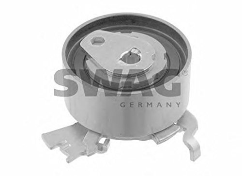 SWAG Timing Belt Tensioner Pulley Fits OPEL Astra Zafira MPV VAUXHALL 5636746 -  40 92 6223